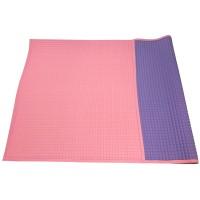 LB4490 Plain rubber cot sheet 90 x 60 cm ( Pink / Purple )