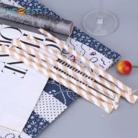 200Pcs Sedotan Minum untuk Dekorasi Pesta Ulang Tahun Anak
