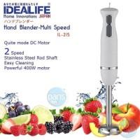 Hand Blender Stik - Stik Blender Idealife IL215