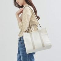 Tas Selempang Wanita Elegant Bahan Canvas Premium - Ailee Bag
