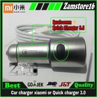 Car mobil charger Xiaomi Mi 5X Mi6 Mi6Plus QualComm 3.0 original 100%