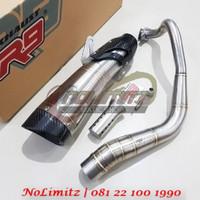 Knalpot Racing R9 H2 SS ORI Full System Free DB Killer Honda ADV 150