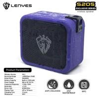 SPEAKER BLUETOOTH PORTABLE WATERPROOF LENYES S205 TWS DAN NFC