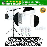 Paket Alat Foto Studio Photography Lightning Kit Set