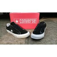 Sepatu Converse all star pendek. Sepatu Converse One Star black white