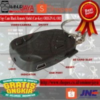 GRATIS ONGKIR Spy Cam Black Remote Mobil Car-Key ORIGINAL ORI