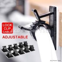 Klip Tali Pengikat Kabel Bisa Disesuaikan Adjustable Cable Clips B