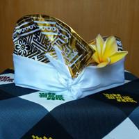 Udeng Bali Udeng Polos Dewasa Putih