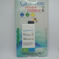 Baterai Batre Battery Samsung S6 EDGE Double Power 2IC