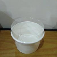 ice cream cup 4 oz + tutup isi 100 pcs