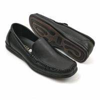 Sepatu Pria Slip On Casual Semi Formal Kulit Asli original fordza 0777