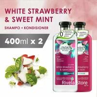 Herbal Essences White Strawberry & Sweet Mint Shampo Conditioner 400ml