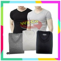 ID K478 Kaos Oblong V-NECK Kaos Dalam Pria T Shirt Premium Comfort Ext
