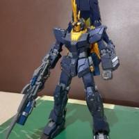 Bandai MG 1 100 Gundam Unicorn Banshee norn (sudah rakit)