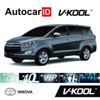 Kaca Film V-Kool Toyota Innova Full (D-VK40 40% S-VIP 60% B-VIP 60%)