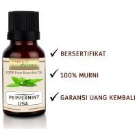 Happy Green USA Peppermint Essential Oil 30 ml- Peppermint Origin USA