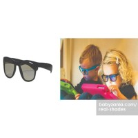 Diskon Real Shades Kacamata Anak 2Y+ Screen Shades - Black Limited