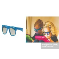 Wow Real Shades Kacamata Anak 2Y+ Screen Shades - Blue Hemat