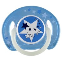 Empeng Bayi Avent Night Time Orthodontic Pacifier 6-18m ISI 1 BLUE -