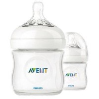 Botol Susu Avent Natural/Avent Feeding Bottol Natural 125ml (Isi 2)