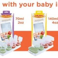 Baby Cubes 70ml BabyCubes Tempat Makanan Bayi di Freezer