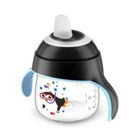 PHILIPS Avent Premium Spout Cup Pingu 200ml 6bln+ Baby Training Cup