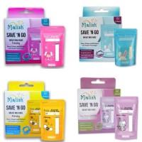 Malish Breastmilk Storage Kantong Asi - Purple