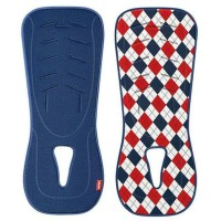 alas stroller car seat Aprica New Sweat Absorbing Pad Blue Red