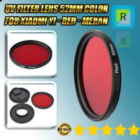 Lensa Filter UV 52mm Color for Xiaomi Yi