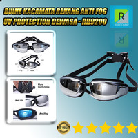 Kacamata Renang Anti Fog UV Protection Dewasa RUIHE - RH9200