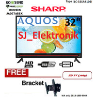 Free Braket LED TV Sharp 32 Inch LC-32SA4102I / 32SA4102 HDTV HDMI USB