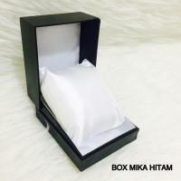 Box Kotak Jam Tangan Pria Wanita Hitam Bantal Ukuran Standart Termurah
