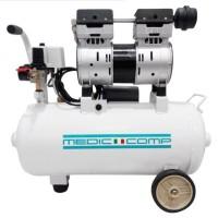 Dental Air Compressor 1 HP Oiless Silent Medic-Comp MD-207-24
