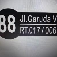nomor rumah   kantor