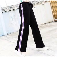 Celana Panjang Side Stripe Trouser Wanita Import