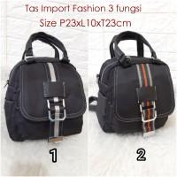 TF7711 Tas Wanita Import 3Fungsi Tas Fashion Import JUGE 3in1