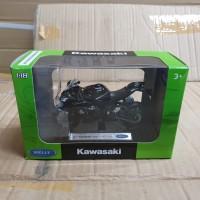 welly die cast motor 1:18 kawasaki ninja zx10rr