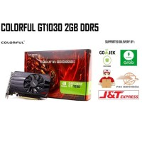 VGA PCI-E COLORFUL NVIDIA GEFORCE GT1030 2GB DDR5