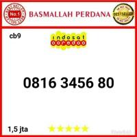 Nomor Cantik IM3 10 digit urut naik 3456 0816 3 4 5 6 80 Cb09