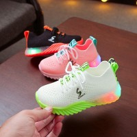 Sepatu Led Anak Sneakers Flynit