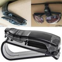 Klip Tempat Gantungan Kacamata Kaca Mata Sun Visor Mobil Universal