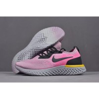 Nike Epic React Flyknit Pink Black Yellow