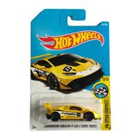 Hot Wheels Lamborghini Huracan LP 620-2 Super Trofeo Kuning HW Speed G