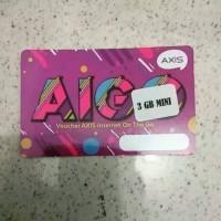 Voucher Axis Aigo 3 Gb - 15 hari