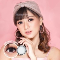ORIGINAL Softlens Kitty Kawaii DREAMY GREY GRAY soflens softlense