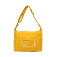 Tas Selempang Wanita Besar Korean Style Kanvas Premium - Joy Bag