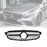 Permaisuri Grille Mercedes Benz W205 Facelift Style Diamond Black