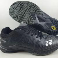 Sepatu Badminton Yonex Power Cushion Aerus 3 Court hitam