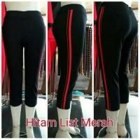 Celana senam yovis pendek 3/4,celana aerobic celana olahraga wanita