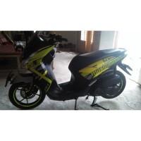 Stiker Motor lexi decal green1 Grade B